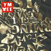 金/銀色 油墨絲印 Gold/silver ink screen printing