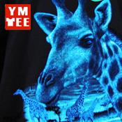 夜光絲印  Luminous Silk screen printing